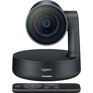 Camera Web LOGITECH Rally Camera, 4K UHD 3840 x 2160p, negru
