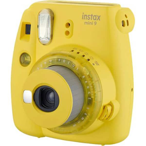 Aparat foto instant FUJI Instax Mini 9, Clear Yellow