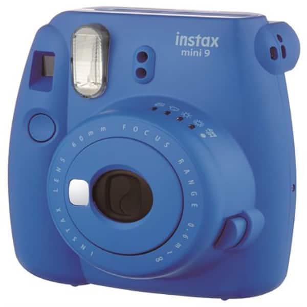 Aparat foto instant FUJI Instax Mini 9, Cobalt Blue