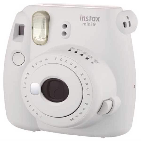 Aparat foto instant FUJI Instax Mini 9, Smoky White