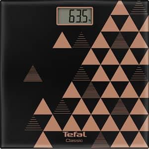 Cantar de persoane TEFAL Classic Scandic Cooper PP1151V0, electronic, 160Kg, negru