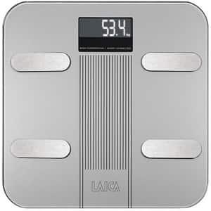 Cantar corporal Smart LAICA Body Composition PS7005, 180 kg, Wi-Fi, sticla securizata, argintiu