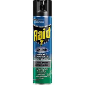 Spray anti-muste si tantari RAID Eucalipt, 400ml