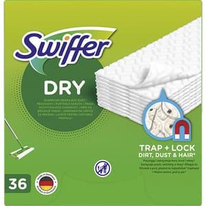 Rezerva uscata mop SWIFFER Dry, 15 cm, 36 bucati