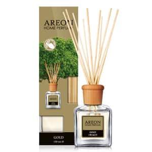 Odorizant cu betisoare AREON Home Perfume Gold, 150ml