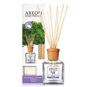 Odorizant cu betisoare AREON Home Perfume Patchouli Lavender Vanilla, 150ml