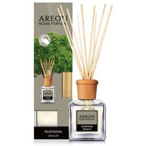 Odorizant cu betisoare AREON Home Perfume Platinum, 150ml