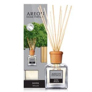 Odorizant cu betisoare AREON Home Perfume Silver, 150ml