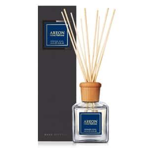 Odorizant cu betisoare AREON Home Perfume Verano Azul Black Line, 150ml