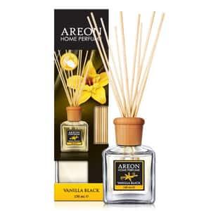 Odorizant cu betisoare AREON Home Perfume Vanilla Black, 150ml