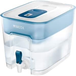 Recipient filtrant BRITA Flow BR1039277, 8.2l, alb-albastru