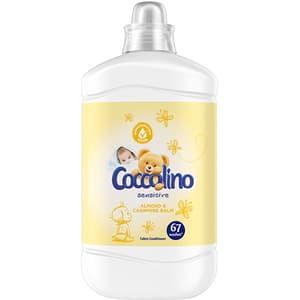 Balsam de rufe COCCOLINO Sensitive Almond, 1.68 l, 67 spalari