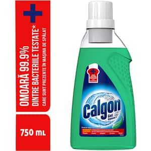 Solutie anticalcar CALGON automat gel Hygiene, 750ml