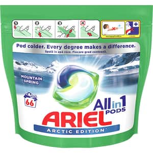 Detergent capsule Ariel All in One PODS Arctic Edition, 66 capsule