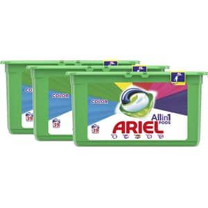 Detergent capsule ARIEL All in One PODS Color, 117 spalari