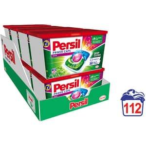 Detergent capsule PERSIL Power Caps Color, 112 capsule