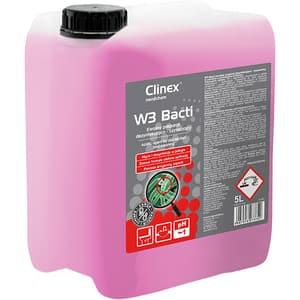 Dezinfectant suprafete si pardoseli CLINEX W3 Bacti, 5l