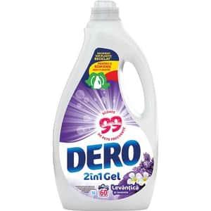 Detergent lichid DERO Lavanda, 3l, 60 spalari