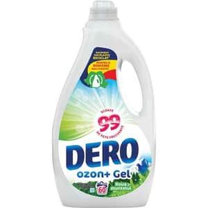 Detergent lichid DERO Ozon+Roua muntelui, 3l, 60 spalari