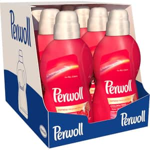 Pachet promo Detergent lichid PERWOLL Renew Color, 8 x 1.8L, 240 spalari