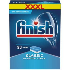 Detergent pentru masina de spalat vase FINISH Classic, 90 tablete