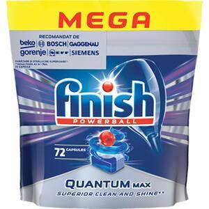 Detergent pentru masina de spalat vase FINISH Quantum Regular, 72 tablete