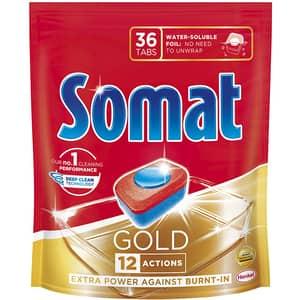 Detergent pentru masina de spalat vase SOMAT Gold, 36 tablete