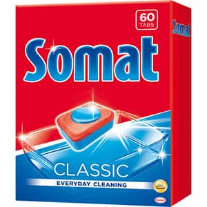 Detergent pentru masina de spalat vase SOMAT Classic, 60 tablete