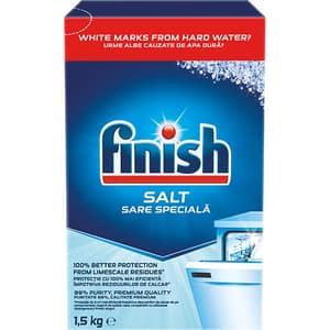 Sare pentru masina de spalat vase FINISH, 1.5 kg