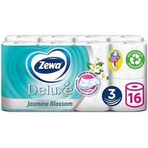 Hartie igienica ZEWA Deluxe Jasmine blossom, 3 straturi, 16 role