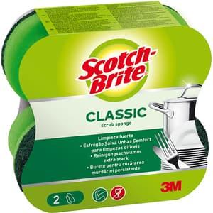 Burete de vase SCOTCH-BRITE MMBU1500, 2 bucati, verde