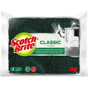 Burete de vase SCOTCH-BRITE MMBU9800, 2 bucati