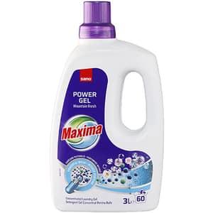 Detergent lichid SANO Maxima Mountain Fresh, 3l, 60 spalari