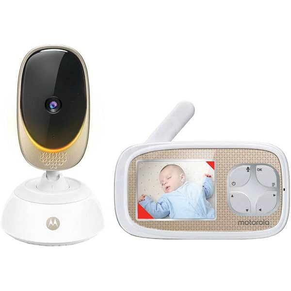 Monitor video digital Wi-Fi MOTOROLA Comfort45 Connect, alb-crem