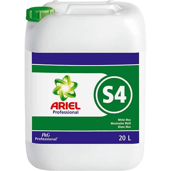 Aditiv pentru spalare lichid ARIEL Professional White Max S4, 20 l