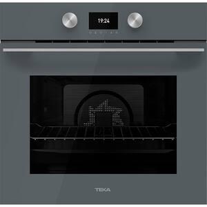 Cuptor incorporabil TEKA HLB 8600 ST, Electric, Autocuratare hidrolitica, 70l, Clasa A+, stone grey