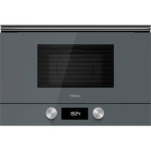 Cuptor cu microunde incorporabil TEKA ML 8220 BIS L-ST, 22l, 850W, Grill, gri inchis