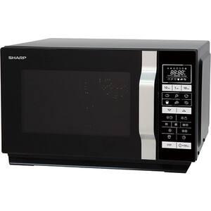 Cuptor cu microunde SHARP R-860BK, 25l, 900W, negru