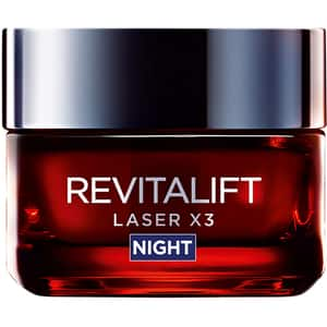 Crema de noapte antirid L'OREAL PARIS Revitalift Laser X3, 50ml