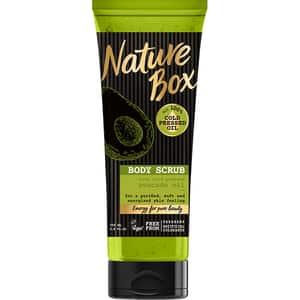 Exfoliant pentru corp NATURE BOX Avocado, 200ml