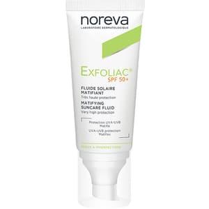 Crema de fata NOREVA Exfoliac, SPF 50, 40ml