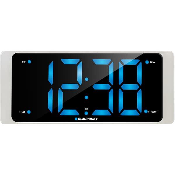 Radio cu ceas BLAUPUNKT CR16WH, FM, Incarcator USB, alb