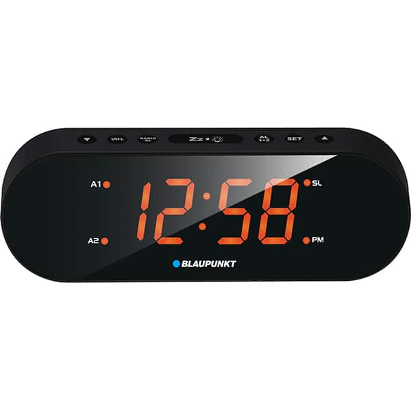 Radio cu ceas BLAUPUNKT CR6OR, FM, negru