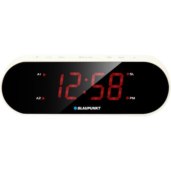 Radio cu ceas BLAUPUNKT CR6WH, FM, alb