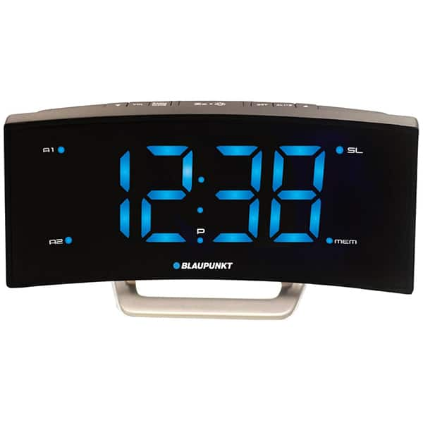 Radio cu ceas BLAUPUNKT CR7USB, Incarcator USB, FM, Incarcator USB, negru