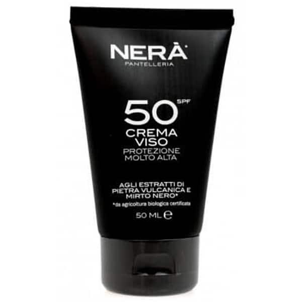 Crema de fata NERA pentru protectie solara very high, SPF 50, 50ml