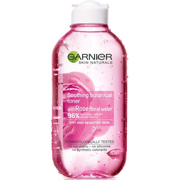 Lotiune tonica cu apa de trandafir GARNIER Skin Naturals, 200ml