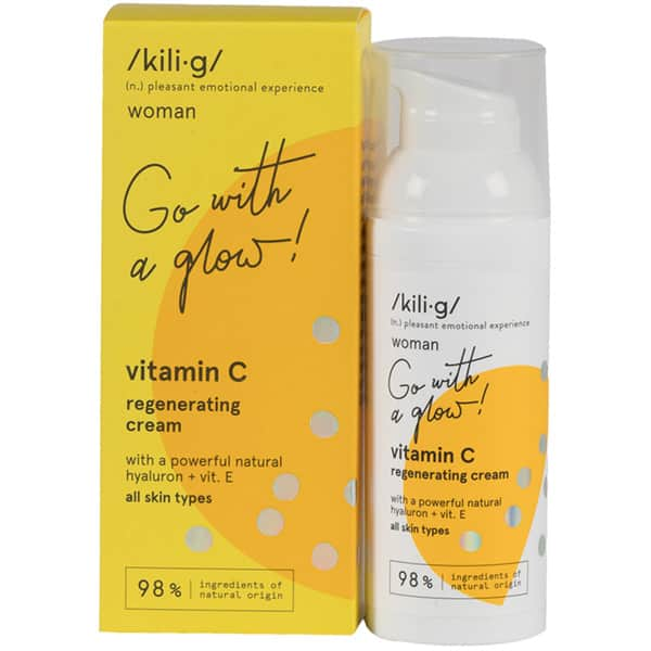 Crema de fata KILIG Woman Go with a glow!, 50ml