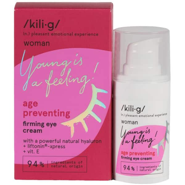 Crema contur pentru ochi KILIG Woman Young is a feeling!, 15ml