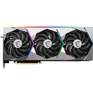 Placa video MSI NVIDIA GeForce RTX 3080 Ti SUPRIM X, 12GB GDDR6X, 384bit